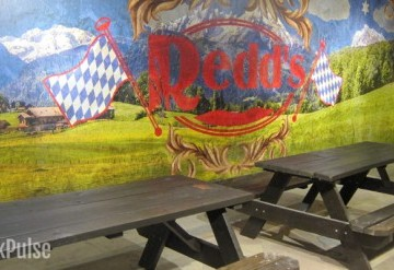 Redd's Biergarten private room