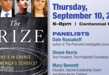 Panel Discussion: The Prize: Who's in Charge of America's Schools