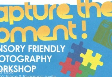 Sensory Friendly Photography Class for Autistic children