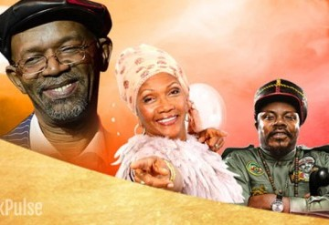 Beres Hammond, Marcia Griffiths and Luciano