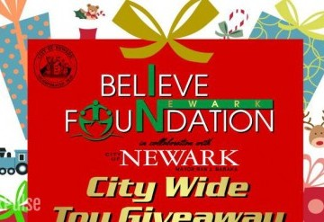 Believe in Newark Foundation City Wide Toy Giveaway