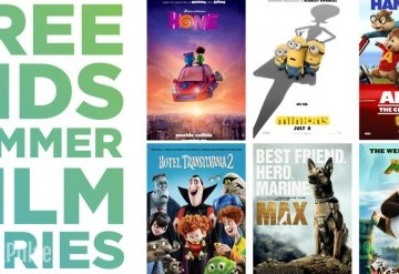 CityPlex Free Kids Summer Film Series 2016