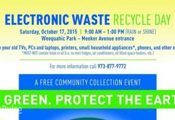 Electronic Waste Day at Weequahic Park