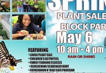 Spring Plant Sale and Block Party 2017