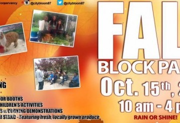 Free and Family-Friendly Fall Block Party at Greater Newark Conservancy
