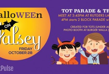 Halloween on Halsey Mini Parade for Tots (Age 5 and under)