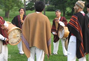 Drums in the High Andes