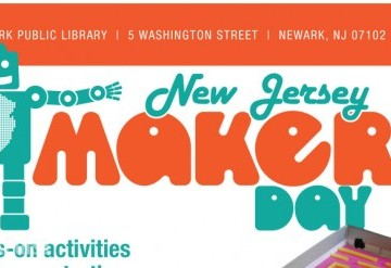 New Jersey Makers Day at Newark Public Library