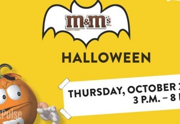 M&M's Trick or Treat Celebration 2016