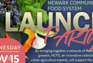 Newark Community Food System Launch Party
