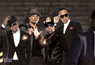 "New Edition and Kenny ""Babyface"" Edmonds"