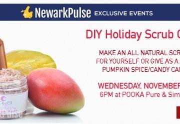 DIY Holiday Sugar Scrub Class at Pooka