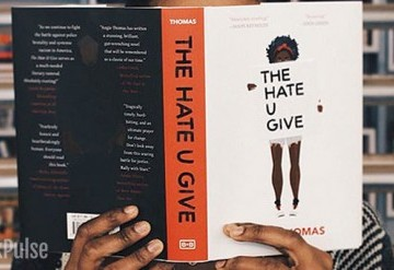 Teen Book Art Club: The Hate U Give