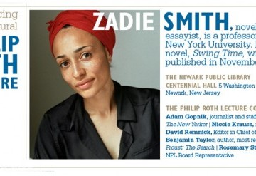 Philip Roth Lecture: Zadie Smith