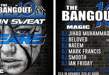 The Bangout 10: Pain Sweat Tears
