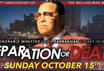 Minister Louis Farrakhan Speaks In Newark: Separation or Death