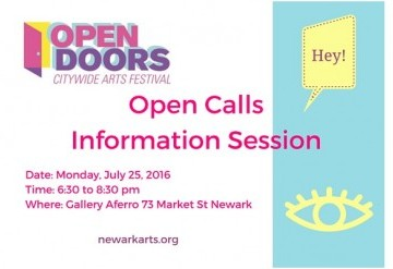 Open Doors: Open Calls Info Session