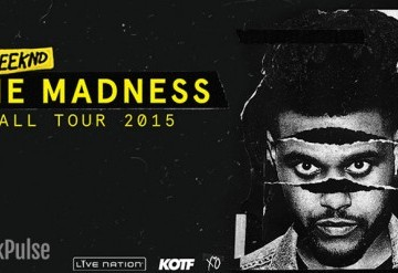The Weekend: Madness Fall Tour Ft Banks and Travi$ Scott