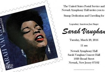 Sarah Vaughan First-Day-of-Issue Stamp Ceremony