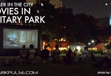 Classic Movie Night at Military Park