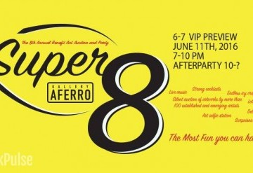 Super 8: Gallery Aferro's 8th Annual Art Auction & AfterParty