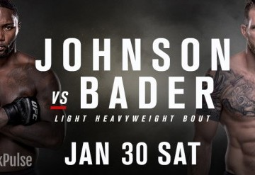 UFC Fight Night: Johnson vs Bader