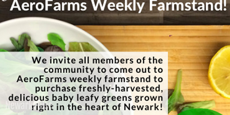 AeroFarms Farm Stand Sale