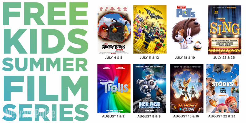 Summer 2017: Free Kids Film Series at Cityplex