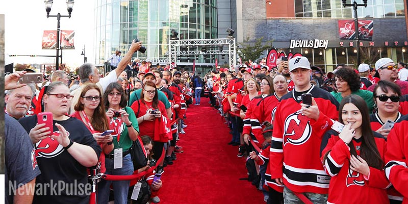 Devils Home Opener and Fan Fest