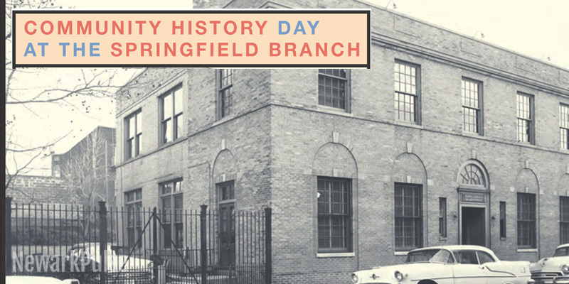 Community History Day at Springfield Branch