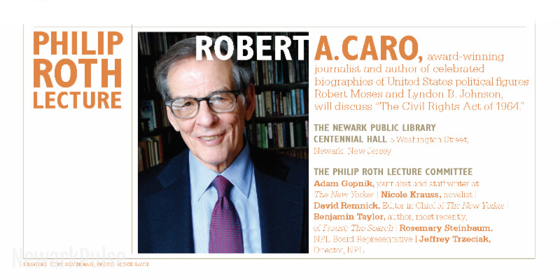 Philip Roth Lecture 2017: Robert A. Caro