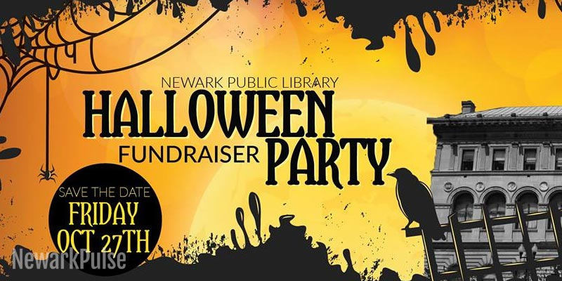 Newark Public Library Halloween Fundraiser Party