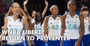 NY Liberty back at the PruCenter