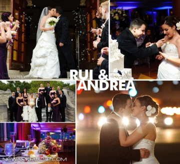 Real Newark Wedding: Rui & Andrea