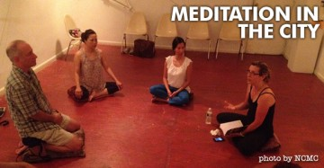 Meditation Classes in the City