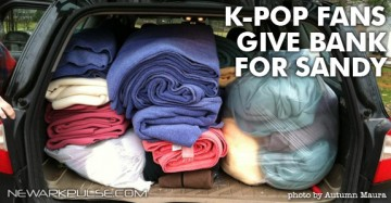 Kpop Fans Host Clothing Drive for Sandy