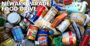 Newark St. Patty's Food Drive 2013