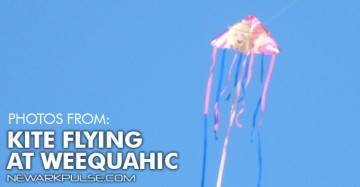 Kite Flying at Weequahic Park 2013