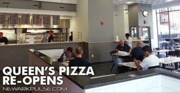 Queen's Pizza Reopens