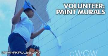 Volunteer Painting Murals
