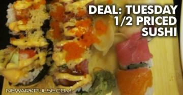 Deal: Half Priced Sushi Tuesdays