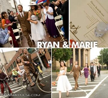 Real Newark Wedding: Ryan & Marie