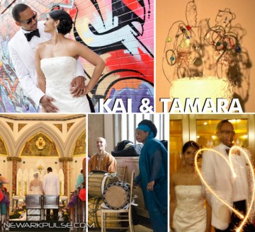Real Newark Wedding: Kai & Tamara