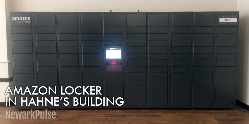 Amazon Locker Now in Hahne's Building