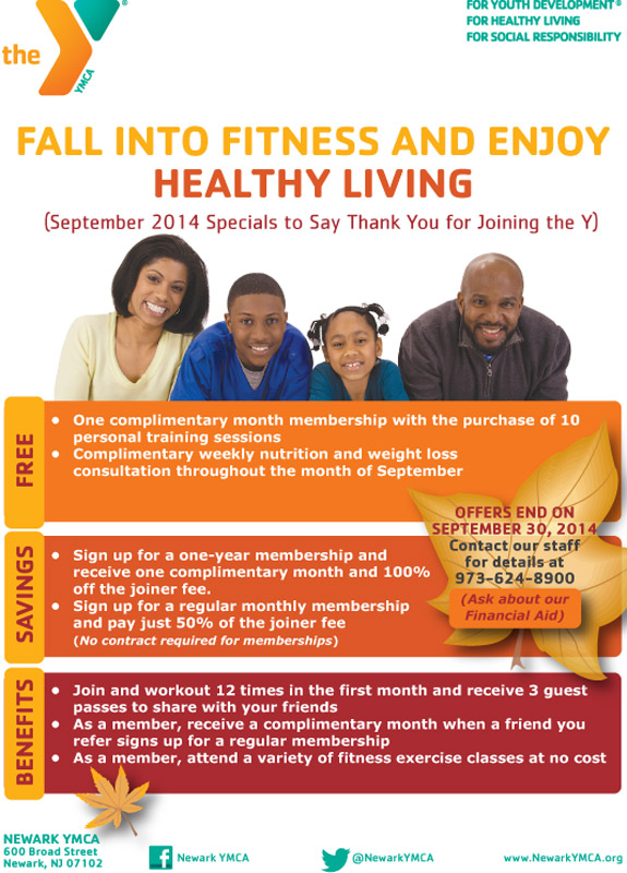Sponsored: Join YMCA for great deals by Sept 30 2014