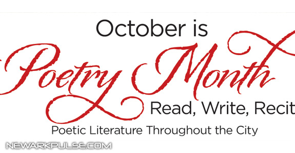 October is Newark Poetry Month