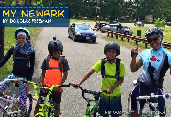My Newark: Weequahic Bike Ride 2015