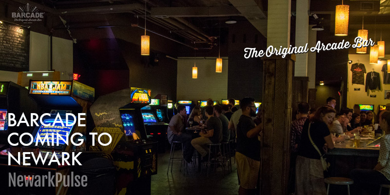 Barcade coming to Newark