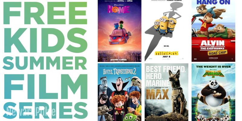 Summer 2016: CityPlex Free Kids Film Series