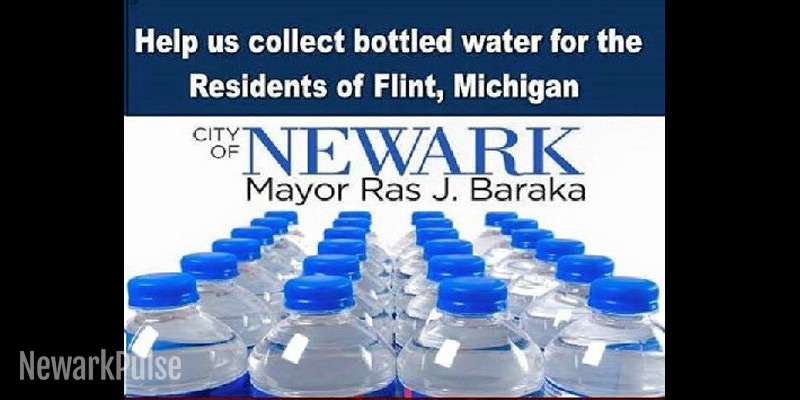 City Collects Bottled Water for Flint, Michigan